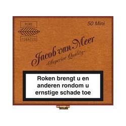 1 BOITE DE 50 MINI CIGARILLOS Jacob Van Meer