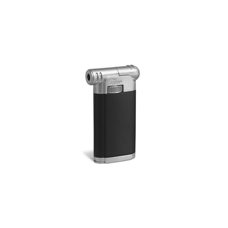 Zino pip lighter black chrome black