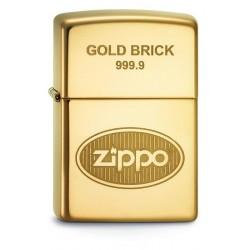 2ZIPPO 60.001363 GOLD BRICK 999.9