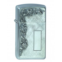 ZIPPO 1.370007 ROSES WITH PANEL EMBLEM