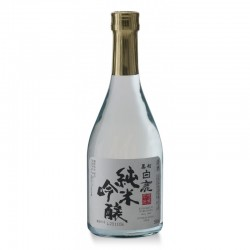 Saké Hakushika bouteille transparente 50cc