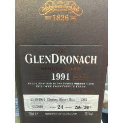Glendronach 1991 24ans 53,1° - 0.7l