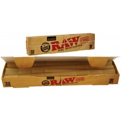 RAW PREROLLED CONE 109MM 32/BOX (*)