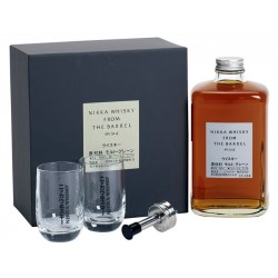 Coffret Nikka From The Barrel 50cl 51.4' + 2 verres
