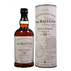 BALVENIE (The) 15 ans Single Barrel Sherry Cask 47,8% - 0.7l
