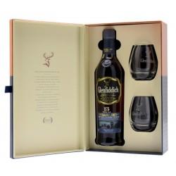 GLENFIDDICH 15 ans Distillery Edition Coffret 2 Verres