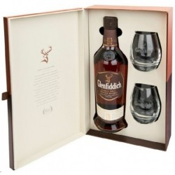Glenfiddich 18 ans Small Batch Reserve Coffret 2 verres