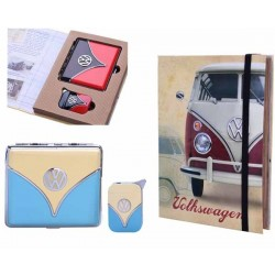VW GIFT SET LIGHTER & CIGARETTE CASE 40610066(*)