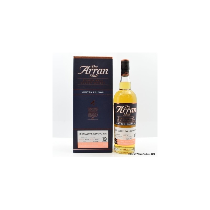 Arran 1996 19 Year Old Distillery Exclusive(*)