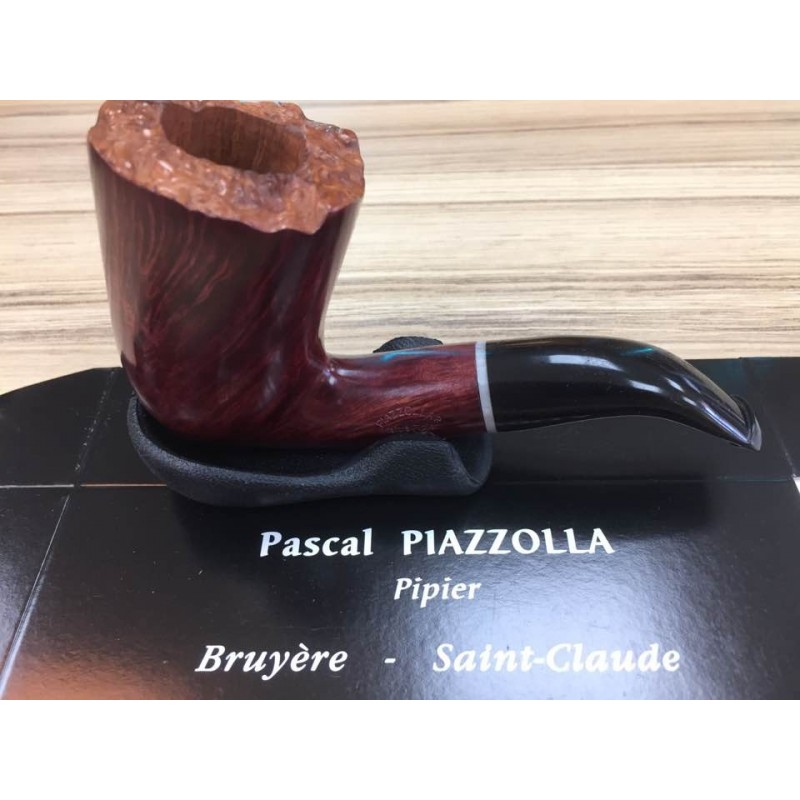 PIPE FLAMMEE ROUGE PASCAL PIAZZOLLA