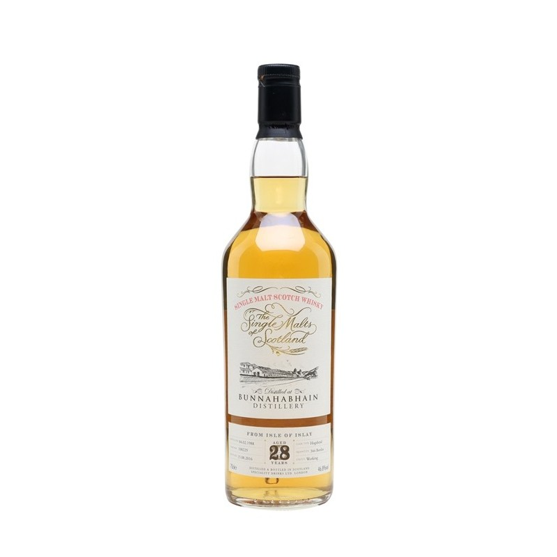 Bunnahabhain 1988 28 Year Old Single Malts of Scotland 70cl / 46.8%