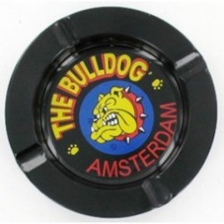 THE BULLDOG AMSTERDAM METAL ASHTRAY