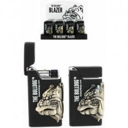 THE BULLDOG BLACK LIGHTER SHINNY