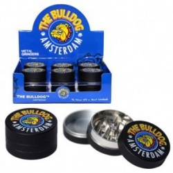 THE BULLDOG AMSTERDAM METAL GRINDER BLACK 3