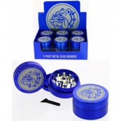 THE BULLDOG AMSTERDAM ALUMINIUM GRINDER 3 PARTS 48mm