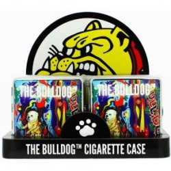 BULLDOG 20 CIG. METAL CASE 85mm ART