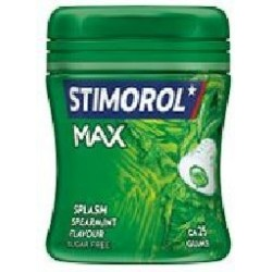 STIMOROL MAX SPLASH SPEARMINT.80G