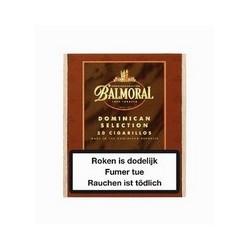 1 BOITE DE 50 CIGARILLOS BALMORAL DOMINICAIN SELECTION