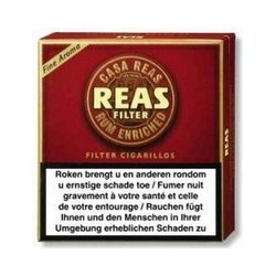 REAS 10X20 CIGARILLOS FILTRES