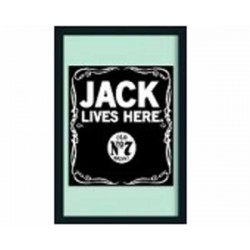 JD MIRROR JACK LIVES HERE L245