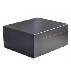HUMIDOR 09427 WALNUT DONKER 26x22x11,5cm - 09431