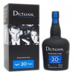 Dictador - Rhum hors d'âge - 20 ans Solera - 70cl - 40°