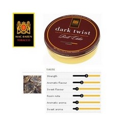 MC BARREN DARK TWIST 100GR.