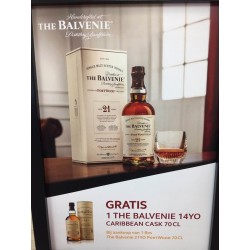 BALVENIE (The) 21 ans PortWood Of 40% 0.7l