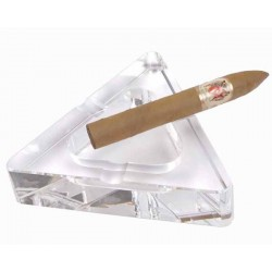 CENDRIER CIGARE 523433 CRYSTAL TRIANGLE 3 REPOSES