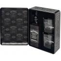 Jack Daniel's Old N°7 + 2 verres en Tin Box 40° 0.7L