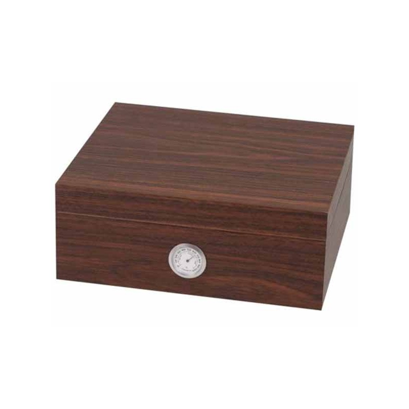 HUMIDOR SET 569187 WALNUT DESIGN BROWN 25 CIGARES