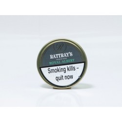Rattrays' Royal Albert Pipe Tobacco 50g. Tin