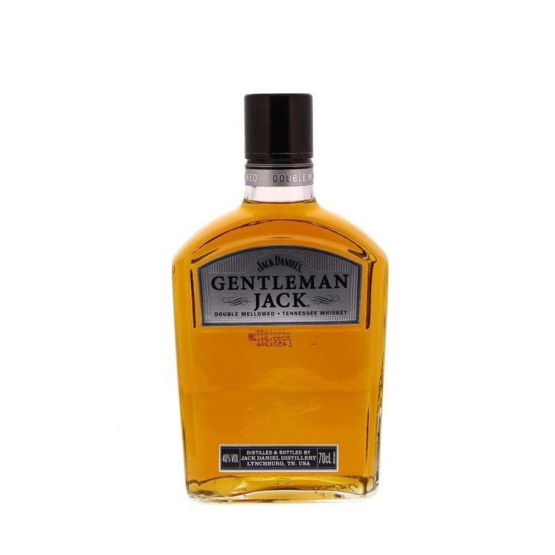 Jack Daniel's Gentleman Jack en coffret + 2 verres 40° 0.7L