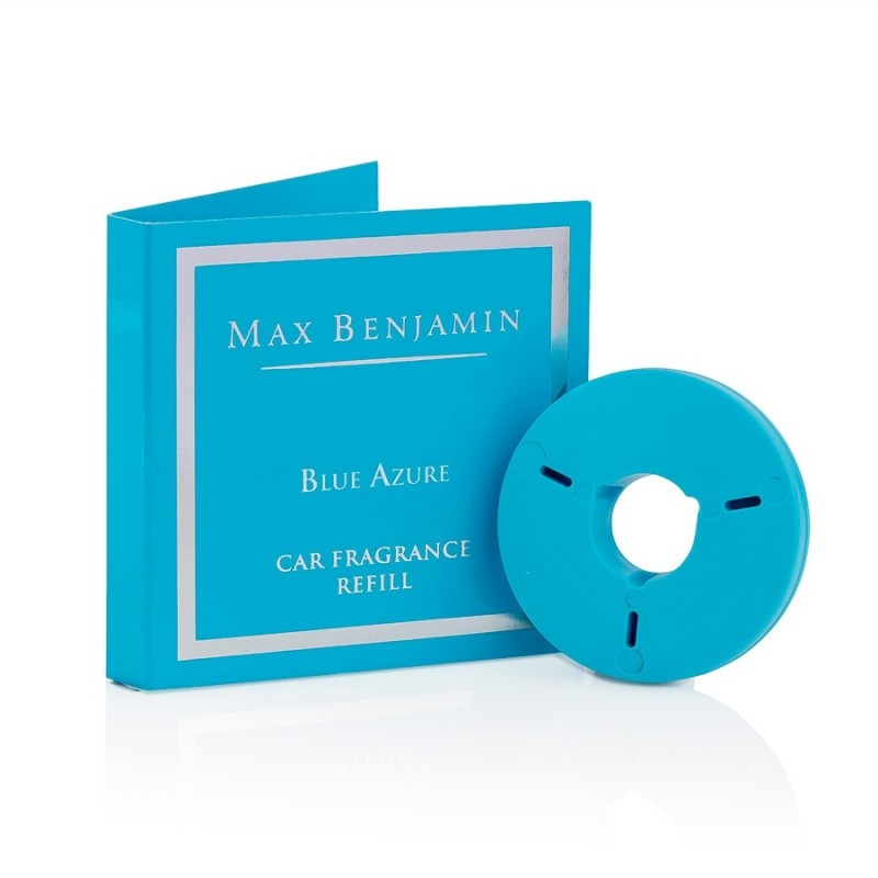 Blue Azure Luxury Car Fragrance Refill Max Benjamin