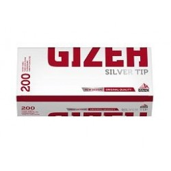 GIZEH SILVER TIP TUBES/200