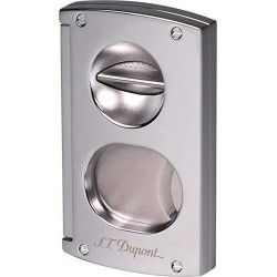 cigar cutter double blade chrome Dupont