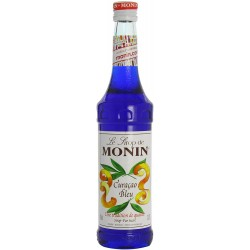Sirop Monin Saveur Curaçao Bleu 70 cl