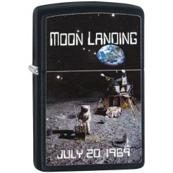 Zippo Moon Landing Design Lighter