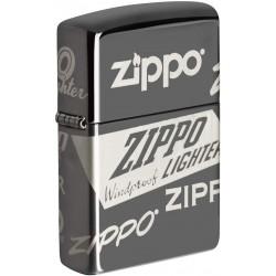 Zippo Logo Design 150- Back ice