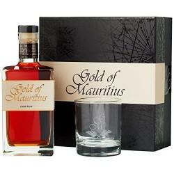 Gold of mauritius dark 40° 70Cl. coffret verre