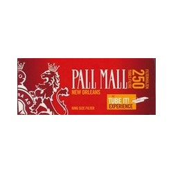 250 TUBES POUR CIGARETTES PALL MALL