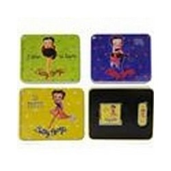 BRIQUET CHAMP 40447073 OVAL + SQ MIRROR BETTY BOOP