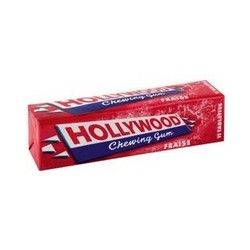 HOLLYWOOD FRAISE 11 TABLETTES
