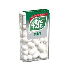 TIC TAC WHITE MINT 18 Gr.