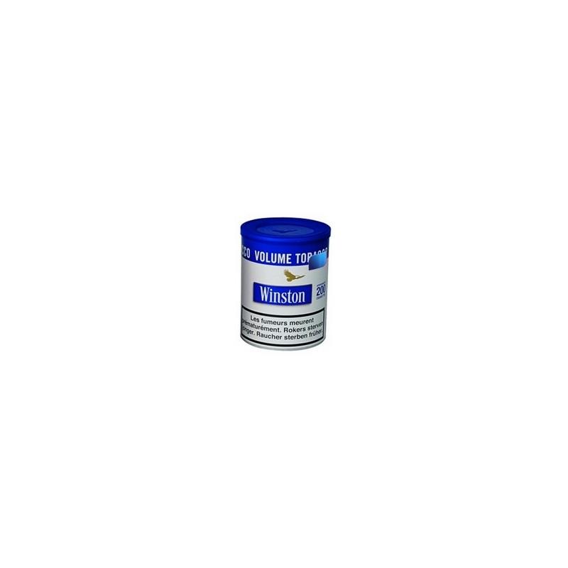 tabac winston volume blue pot 100gr. Black Bedroom Furniture Sets. Home Design Ideas