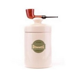 POT A TABAC STANWELL PIPE BROWN POLISHED