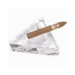 CENDRIER 09621 CRYSTAL TRIANGLE 15CM
