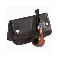 BLAGUE A TABAC PETERSON 149 DELUXE CUIR COMBI