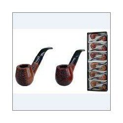 CONEY PIPES RED/BROWN LAQUERED