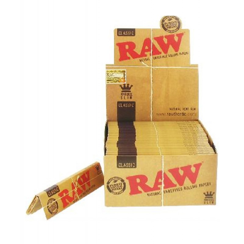 RAW KING SIZE SLIM PAPER